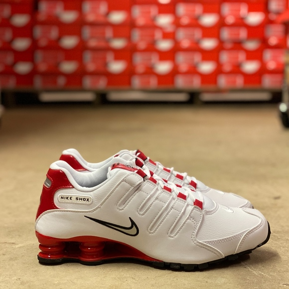 Nike Shox NZ Low Mens Running Shoes White Multi Sz